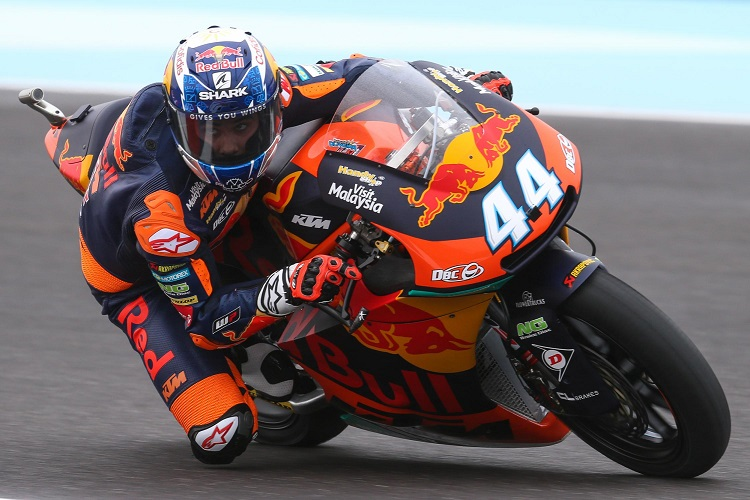 Oliveira And Ktm Claim Maiden Moto2 Pole The Checkered Flag