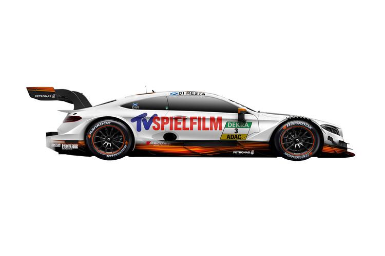 Mercedes DTM Reveal Car Liveries for the 2017 Season