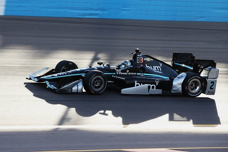 Newgarden Leads First Oval Practice Of 2017 In Phoenix