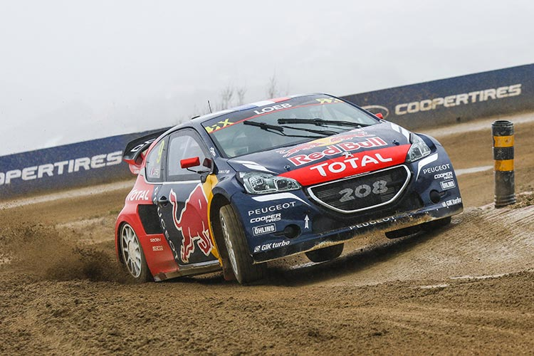 Weather conditions in 2016 proved challenging - Credit: FIA World RX / IMG