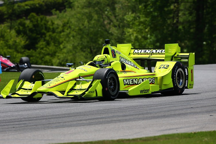 Checkered Flag VW >> Pagenaud leads Penske 1-2-3-4 in opening Barber practice ...
