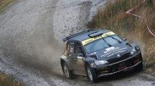 Fredrik Ahlin / Torstein Eriksen Skoda Fabia R5 Photo Credit: MSA British Rally Championship