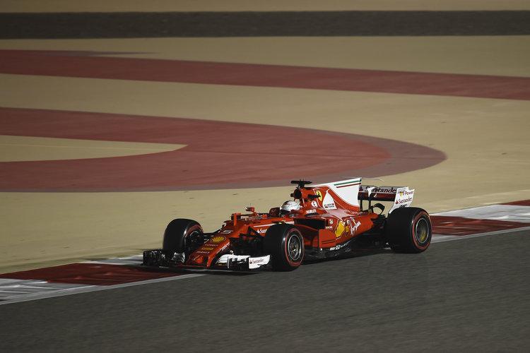 Vettel revving up with revived Ferrari