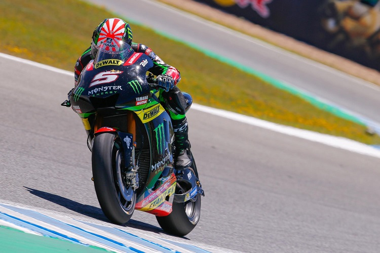 zarco extends tech 3 contract for 2018 motogp the checkered flag. Black Bedroom Furniture Sets. Home Design Ideas