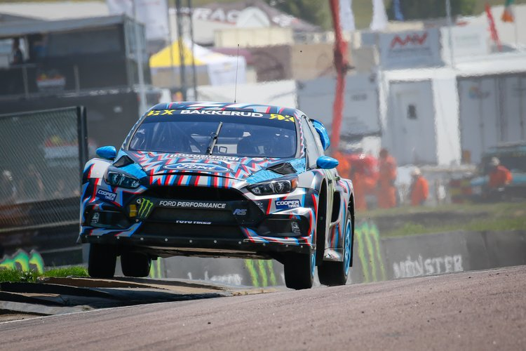 Andreas Bakkerud Is A Multiple Race Winner In World RX. Credit: IMG / FIA  World RX. American Car Manufacturer Ford ...