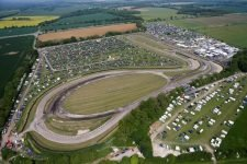 "The ""home of rallycross"", Lydden Hill Circuit, as seen from above"