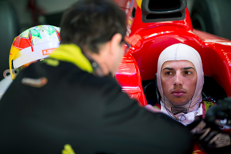 Roberto Mehri - F2 Pre-Sesaon test - Credit: Alastair Staley/FIA Formula 2