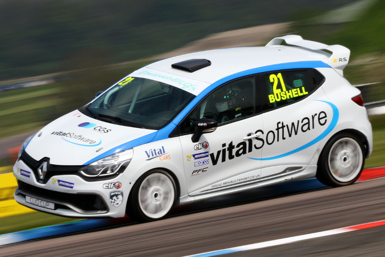 Bushell Leads Throughout For Opening Thruxton Win