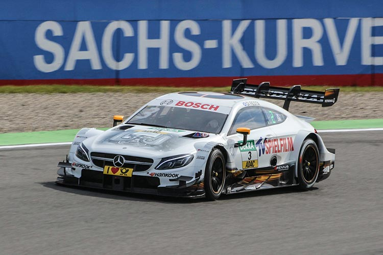 Green dominates rain-hit second DTM race at Hockenheim