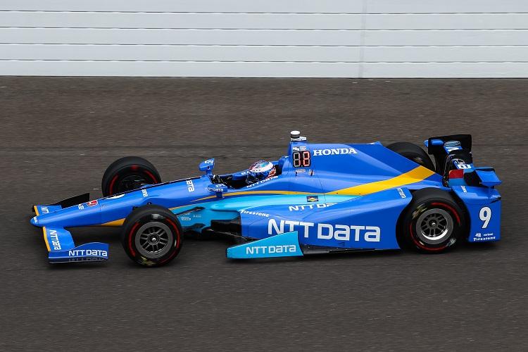 Sublime Dixon Hits 232mph To Take Indianapolis 500 Pole
