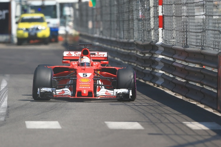 Vettel happy again after extending lead with Monaco GP win