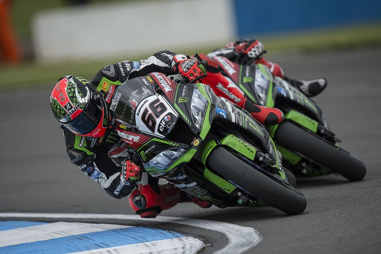 Rea fights back after crash to take command in qualifying