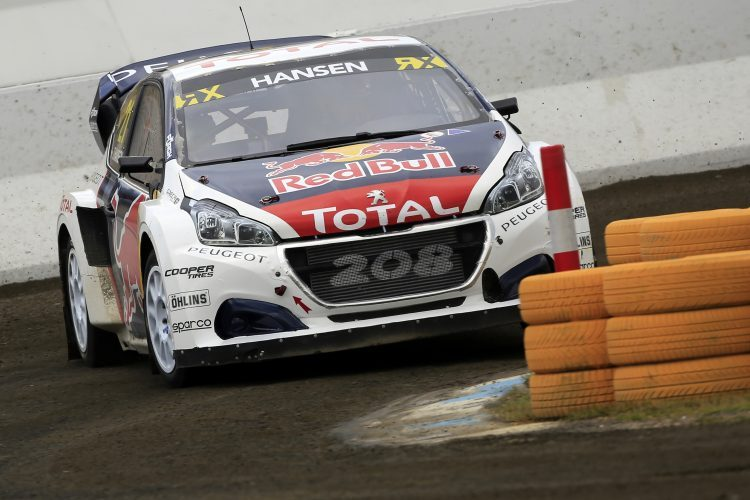 Timmy Hansen Satisfied With Third Place In Hockenheim The Checkered Flag