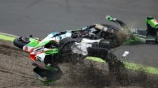 Haslam Crash at Knockhill