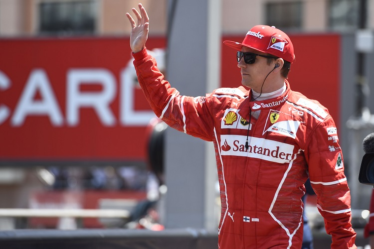 Raikkonen on top ahead of Hamilton at Canadian Grand Prix