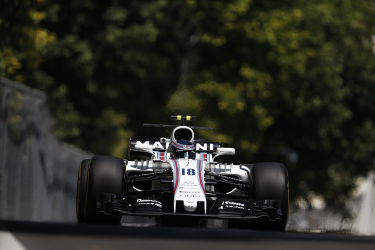 Stroll tested with Williams between Canada and Baku!