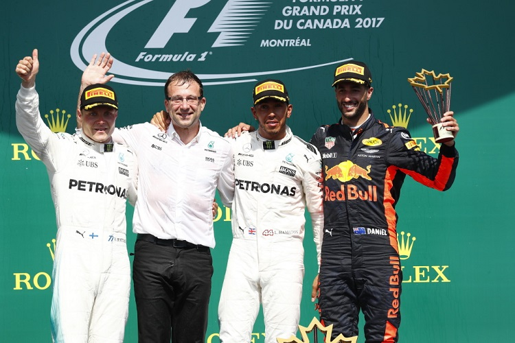 Image result for canadian gp 2017 podium