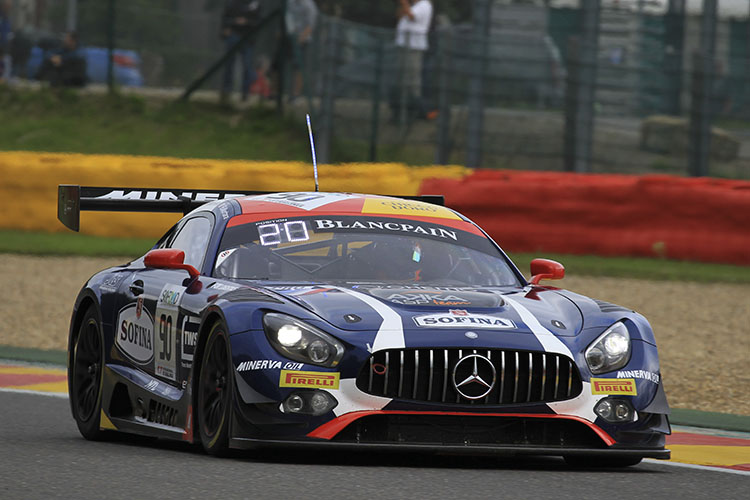 Akka ASP top 24 hours of Spa qualifying as session red flagged - The Checkered Flag