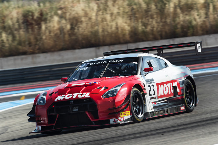 Motul Team RJN hit the track with their Nissan GT-R NISMO GT3's ahead of Total 24 Hours of Spa ...