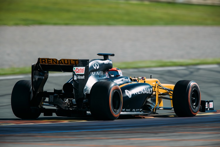 Kubica to test 2017 Renault F1 vehicle in Hungary next week