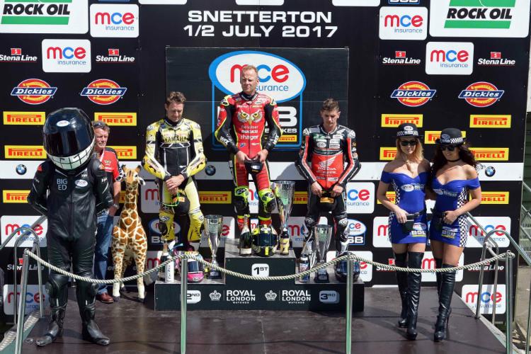 Shane Byrne - Snetterton Double