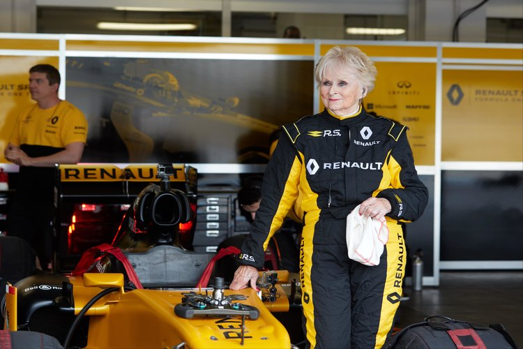 Woman Old Enough To Be Your Gran Drives 800bhp F1 Race Car