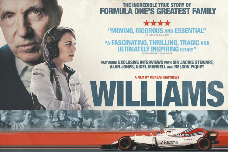 Williams Film To Show Frank Williams Life Both On And Off
