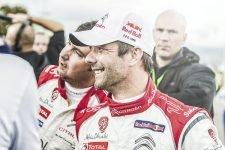 Sebastien Loeb and Daniel Elena
