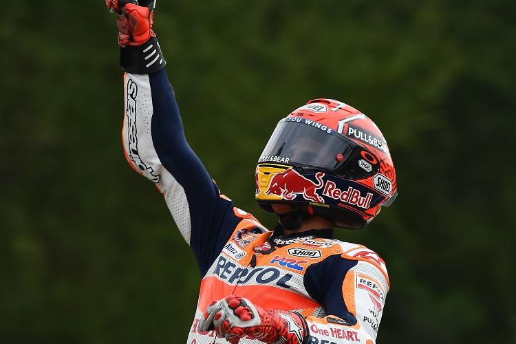 Marquez Outsmarts MotoGP Rivals at Brno - MotoGP - The ...