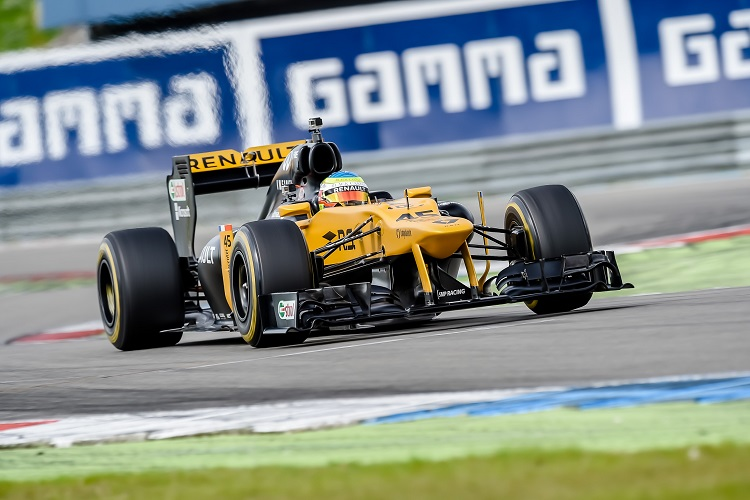 Third Renault test for Kubica in Hungary