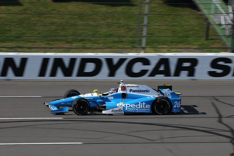 Power wins Indycar race at Pocono again