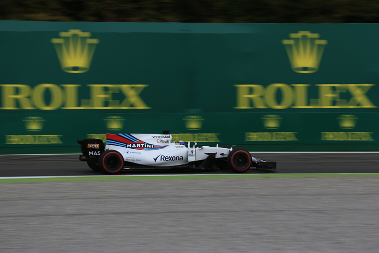 'I was just having fun' - rookie Stroll makes Monza front row