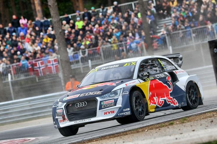 Mattias Ekstrom - EKS Audi Sport - Audi S1 Quattro