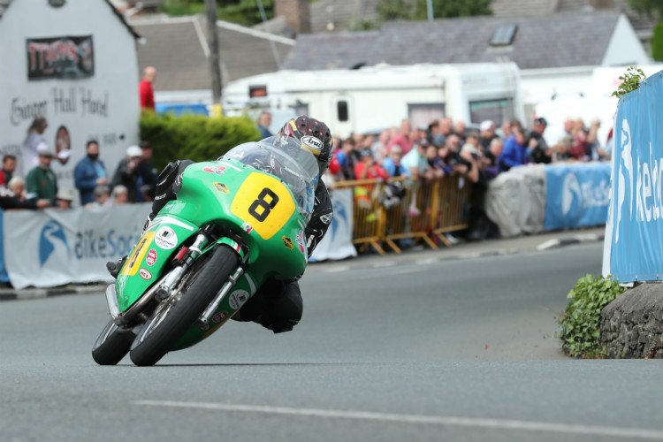 Josh Brookes at the Classic TT