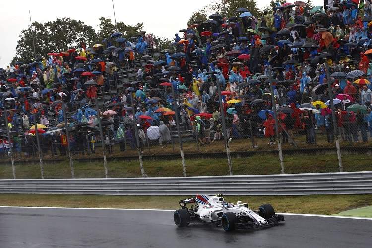 Rain delays Italian Grand Prix qualifying
