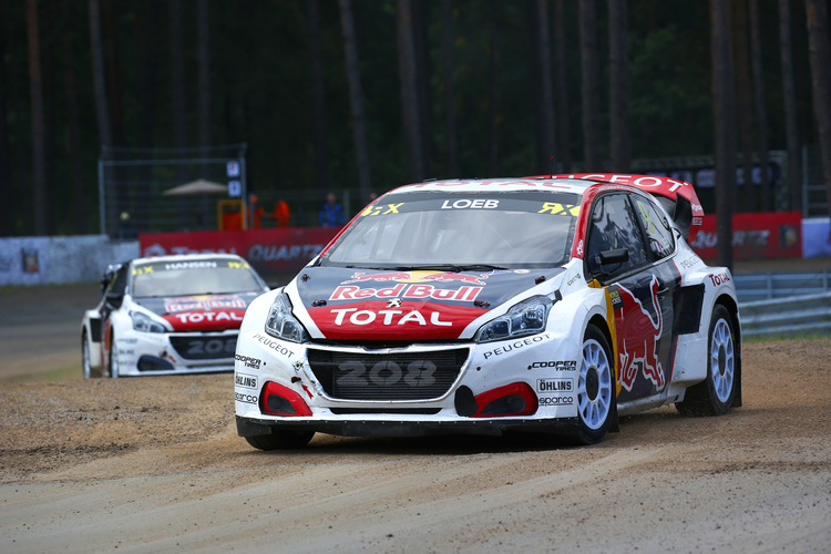 peugeot and loeb confirm increased involvement in world rx for 2018 the checkered flag. Black Bedroom Furniture Sets. Home Design Ideas