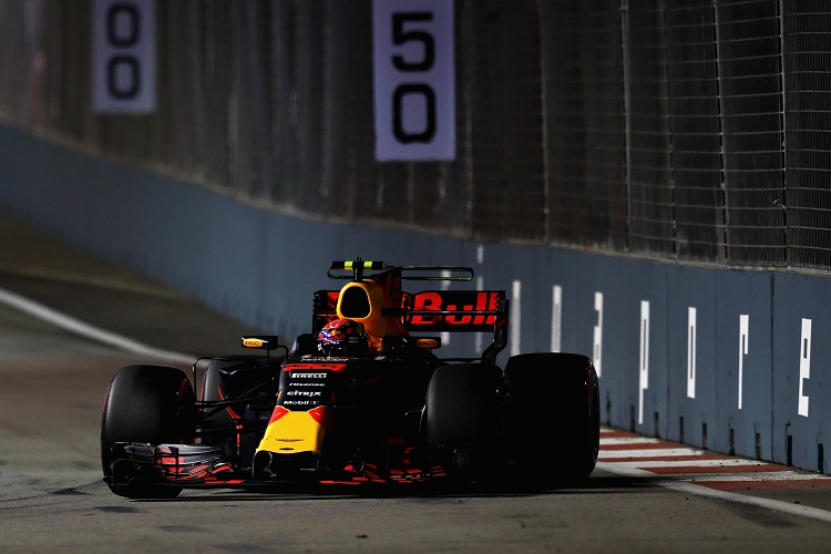 Singapore Grand Prix: Max Verstappen quickest in third practice
