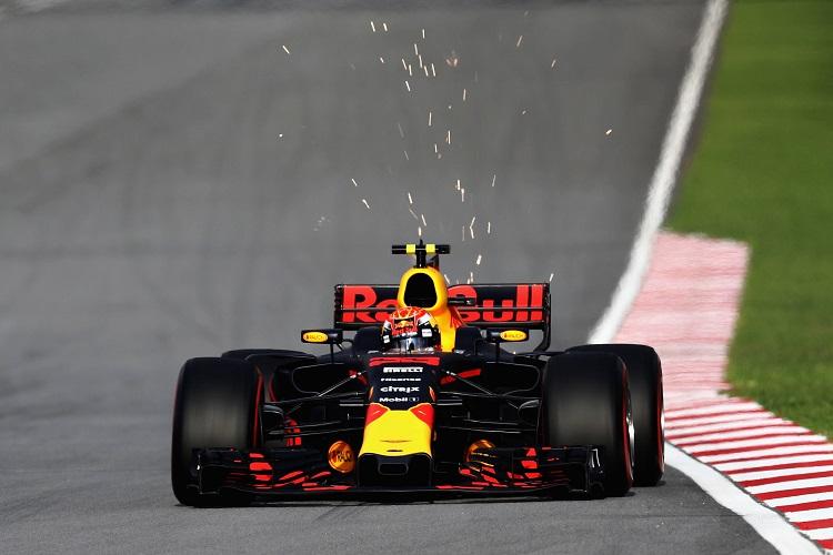 Sebastian Vettel Had A Bizarre Crash After The Malaysian GP Finished