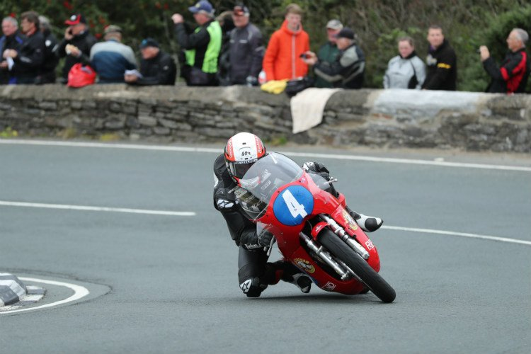 Michael Rutter - Classic TT Junior Race Winner