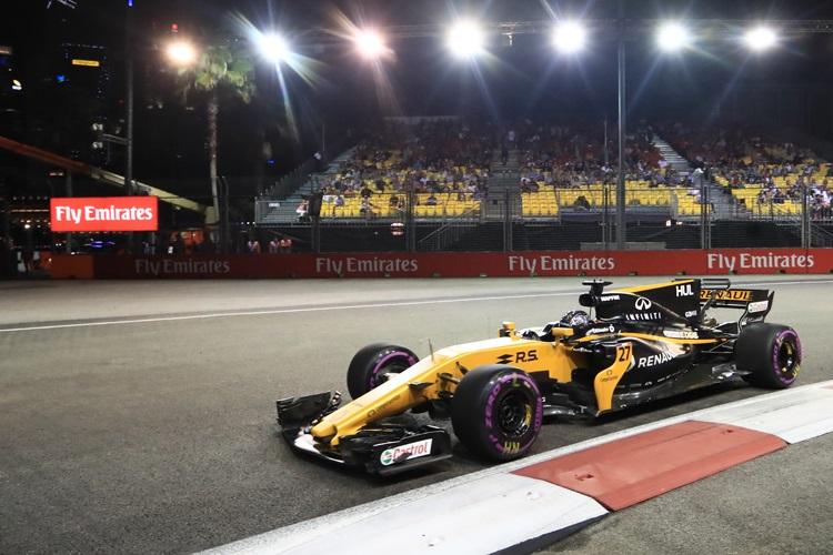 Grosjean Questions Viability of a Wet Singapore Grand Prix