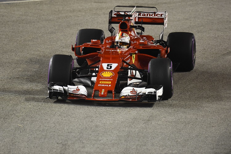 Sebastian Vettel discusses Singapore Grand Prix collision with Raikkonen and Verstappen