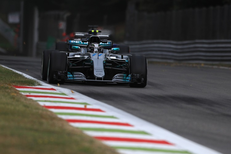 Bottas and Mercedes best in Friday practice for Italian GP