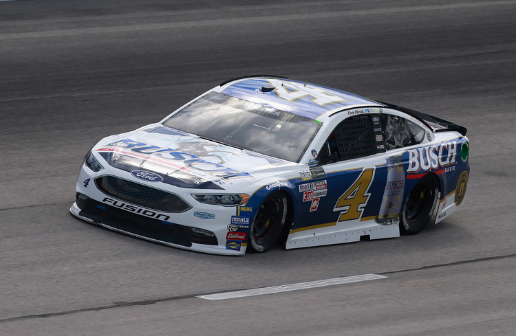 Kevin Harvick Wins 3rd Pole for Southern 500