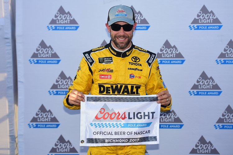 Matt Kenseth tweets photo with ambulance after freaky accident