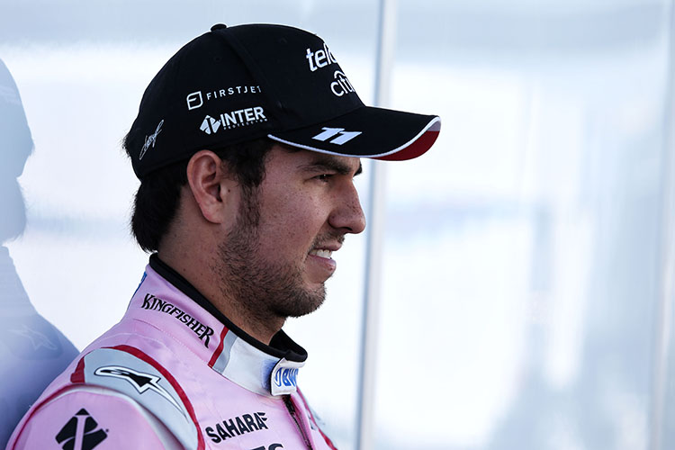 Formula One: Force India's Mexican driver Sergio Perez extends contract until 2018