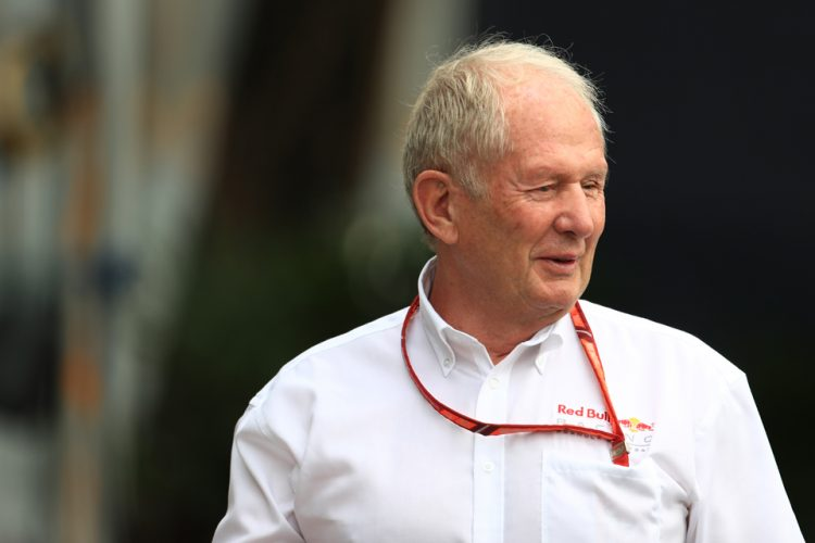 Marko takes swipe at Mercedes and Ferrari