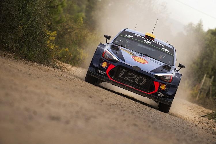 Rally De Espana 2017 Day 1 Mikkelsen Leads On Hyundai