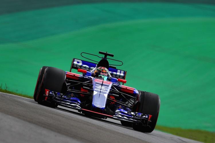 Brendon Hartley at the Brazilian Grand Prix