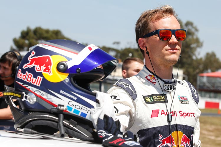 Mattias Ekström - EKS RX - Credit : FIA World Rallycross Championship