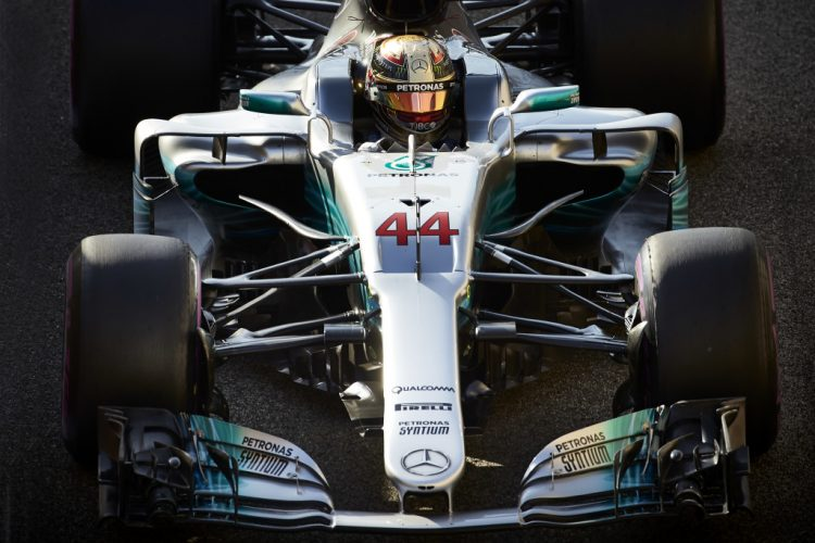 Hamilton on top in final Abu Dhabi practice